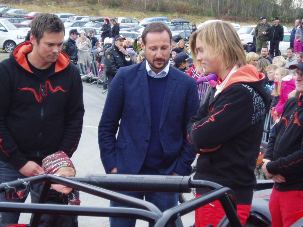 Knut Ove Børseth, Kronprins Haakon og Sebastian